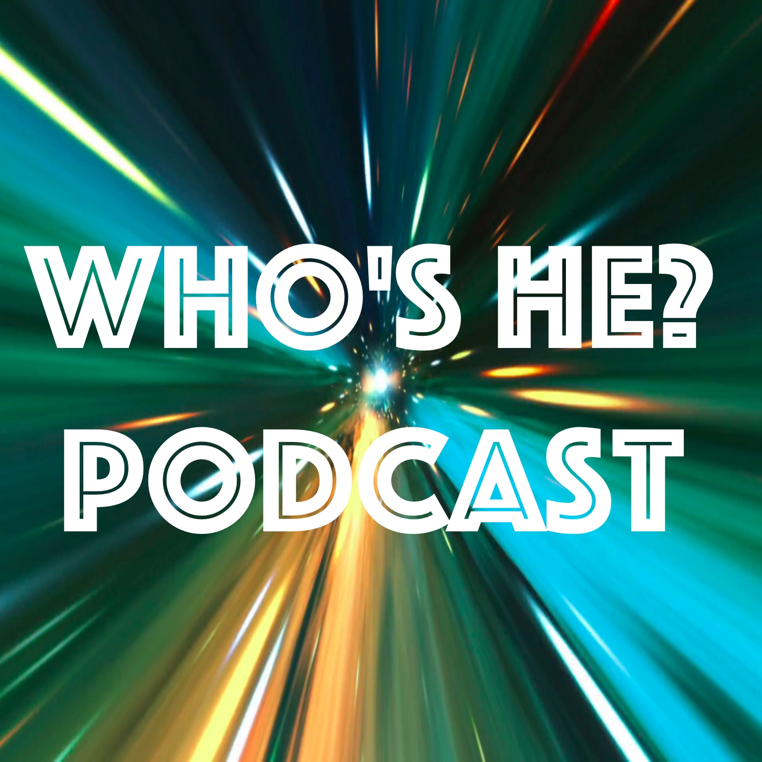 Doctor Who: Who's He? Podcast show art