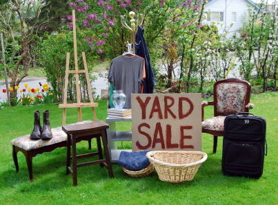 Mastering the Garage Sale...WWRD