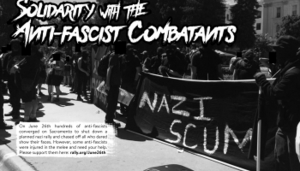 Reflections on June 26, 2016 antifa resistance in Sacramento, CA