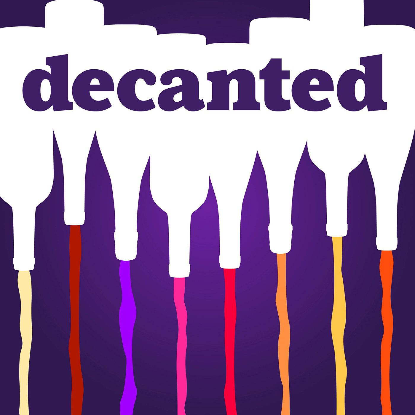 Decanted Wine Podcast show art