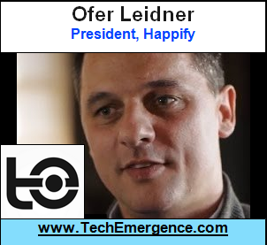 Technology as a Driver of Behavior Change - with Happify Co-Founder Ofer Leidner