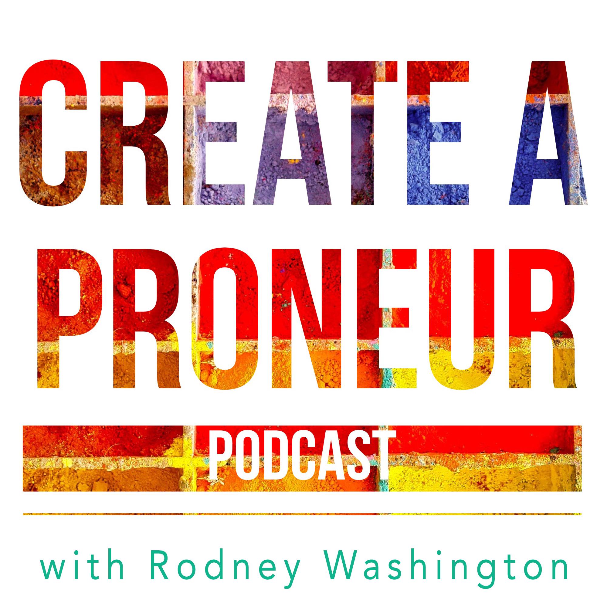 Create A Proneur Podcast show art