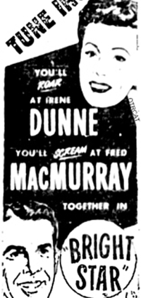 251-150309 In the Old-Time Radio Corner - Irene Dunne and Fred MacMurray Show (Bright Star)