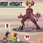 Artwork for #36 Iron Knight