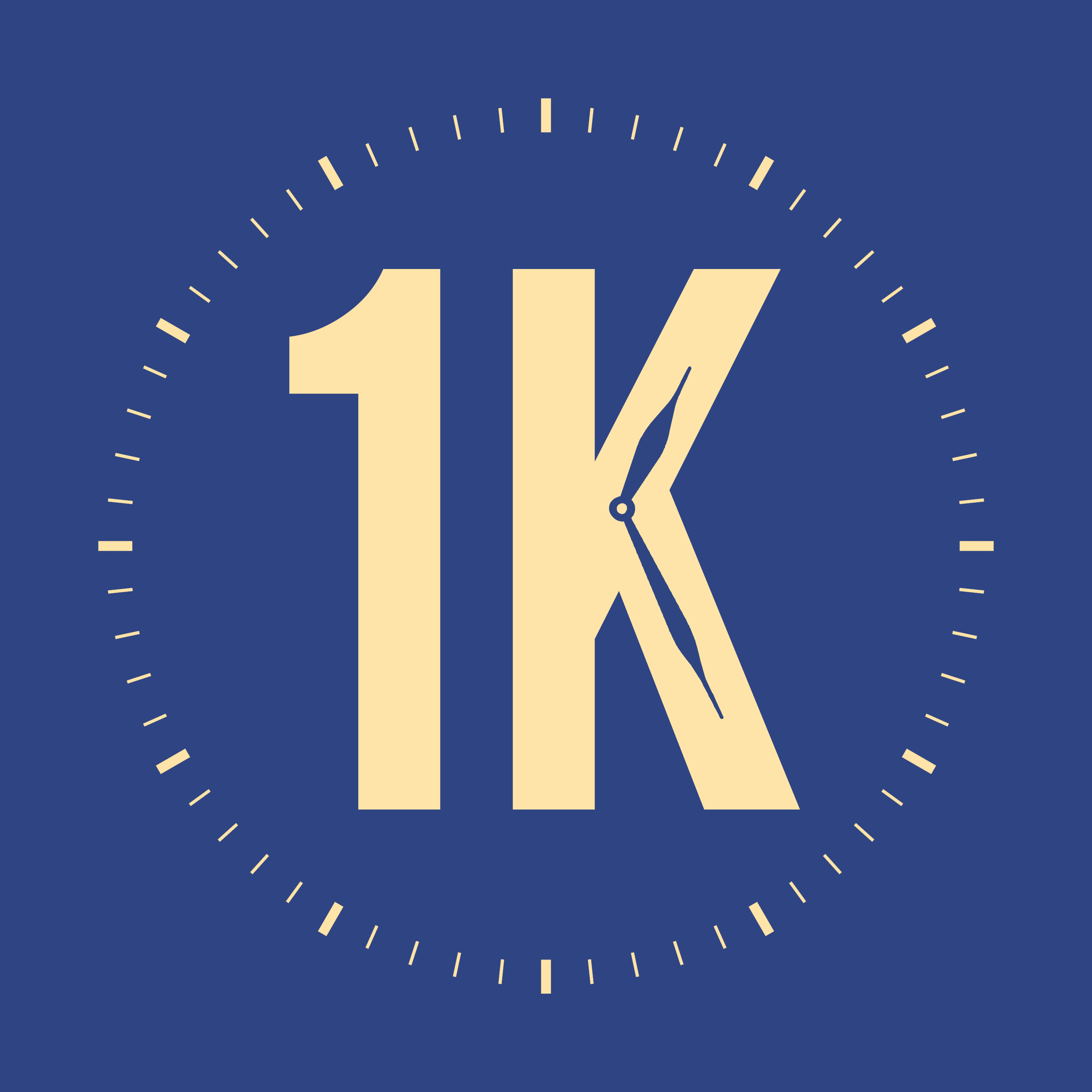 1K: The 1,000 Second Interview Podcast show art
