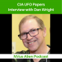 Artwork for 📚 The CIA UFO Papers 🛸 Interview with Dan Wright 📚