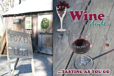 Episode #2: Foxen Vineyard; The Wine Dude - Tasting as you go (Video)