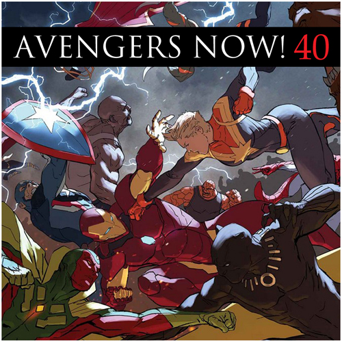 Cultural Wormhole Presents: Avengers Now! Episode 40