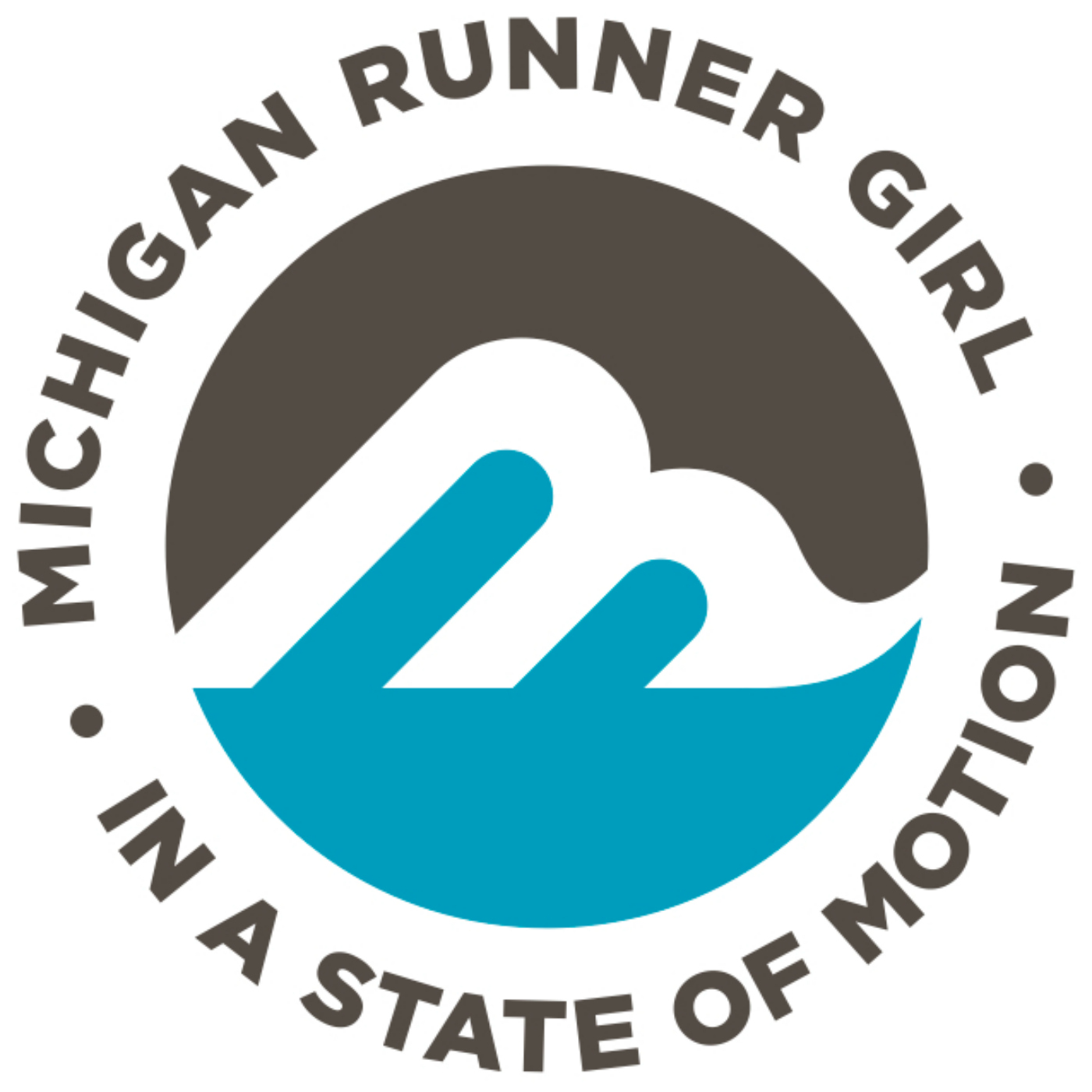 Michigan Runner Girl  show art