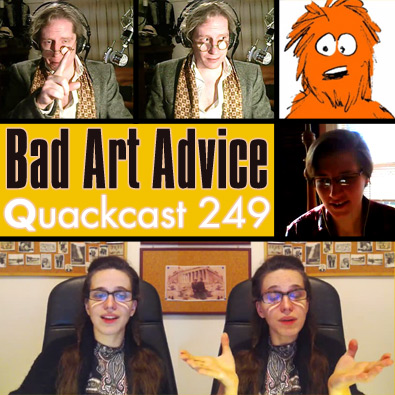 Episode 249 - Bad Drawing advice!