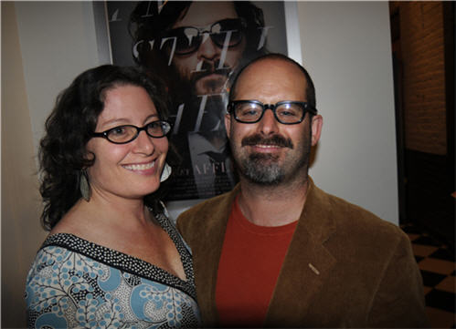 Daniel Kamil and Emily Steffian, owners and operators of the Cable Car Cinema and Cafe in Providence, RI - Future of Independent Cinemas
