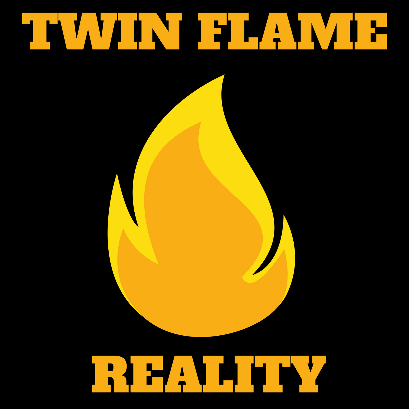 Twin Flame Reality Podcast show art