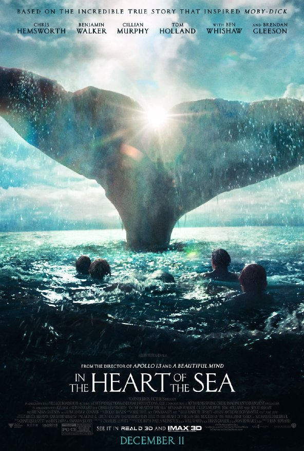 Ep. 203 - In the Heart of the Sea (Jaws vs. Deep Blue Sea)