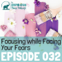 Artwork for 032: Focusing while Facing Your Fears with Creativity Coach Rahti Gorfien