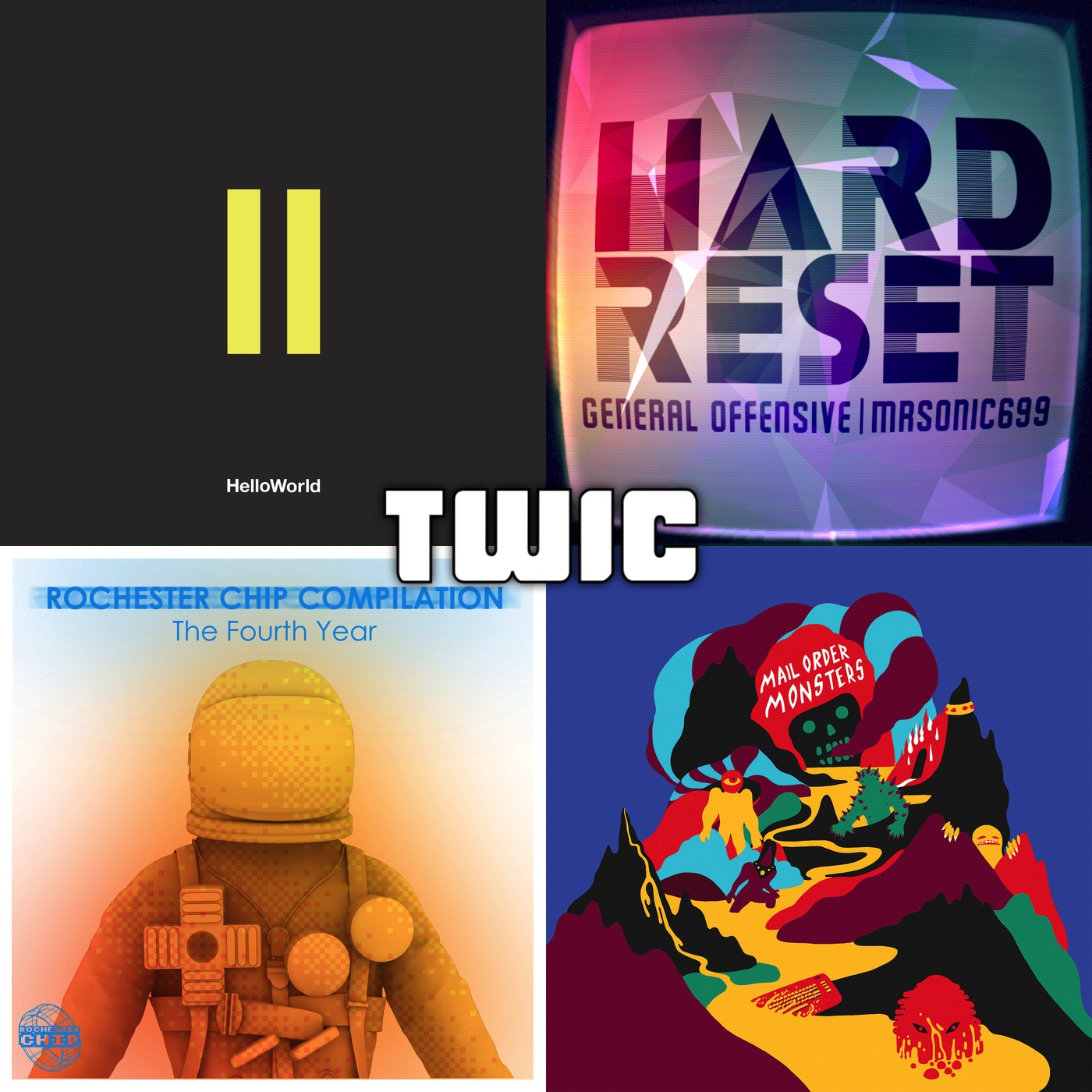TWiC 082: Hello World, Inverse Phase, Rochester Chip, General Offensive