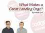Artwork for Dodgeball Marketing Podcast #24: What Makes a Great Landing Page?