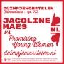 Artwork for 073 // Jacoline Maes vs. Promising Young Woman // Duimpjeworstelen