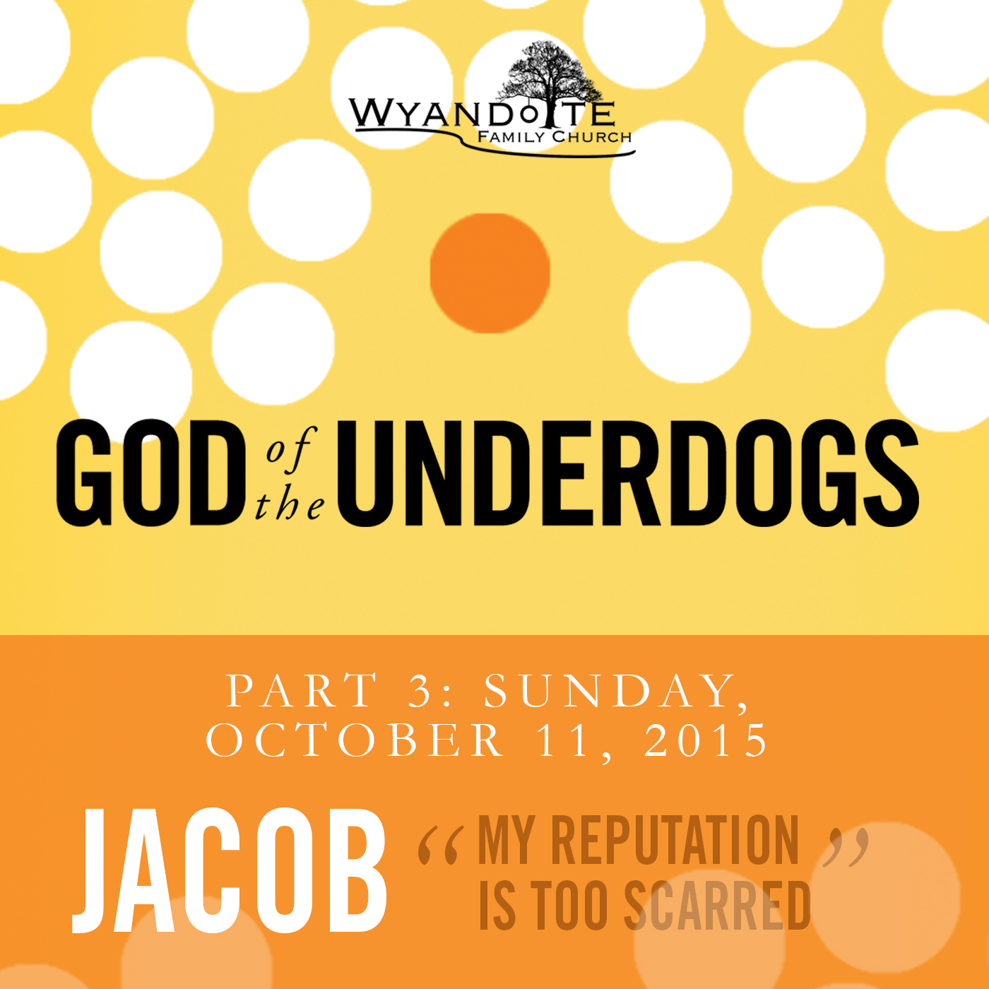 "God of the Underdogs Part 3 Jacob ""My Label is Holding me Back"""