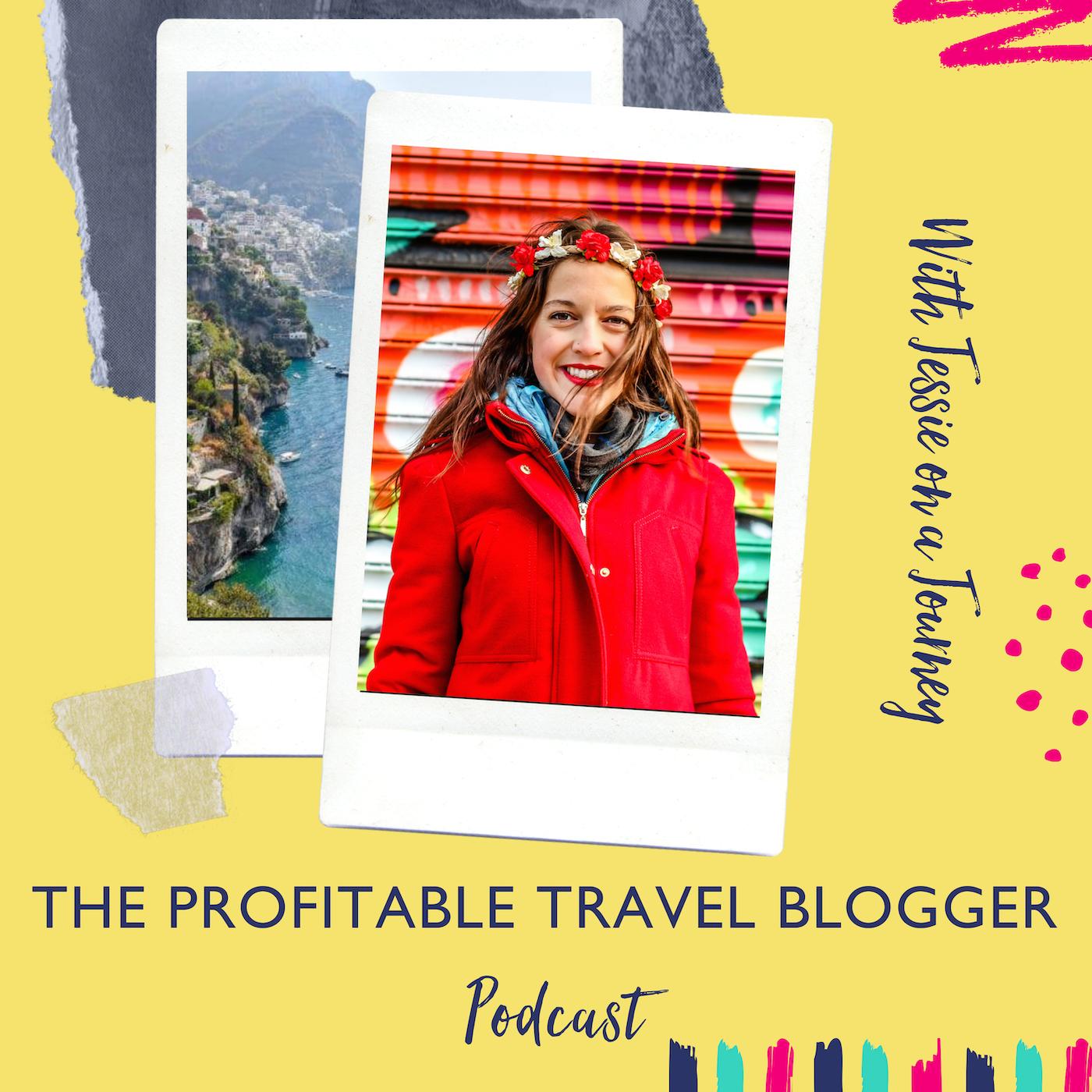 The Profitable Travel Blogger Podcast show art