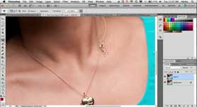 How To Use The Photoshop CS5 Patch Tool To Fix Things In Portrait Retouching