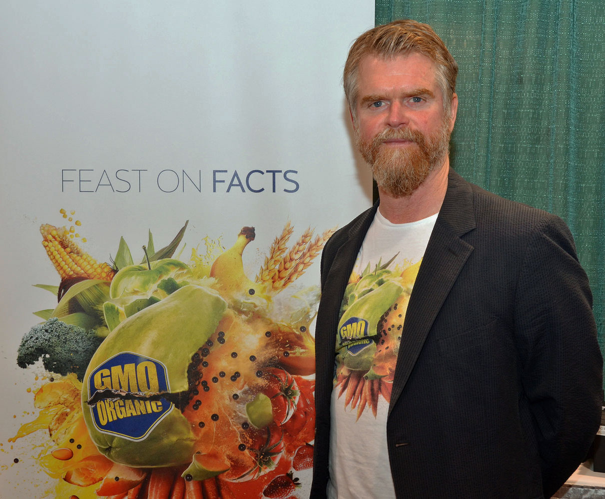 Food Evolution producer/director Scott Hamilton Kennedy