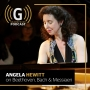 Artwork for Angela Hewitt on Bach, Beethoven and Messiaen