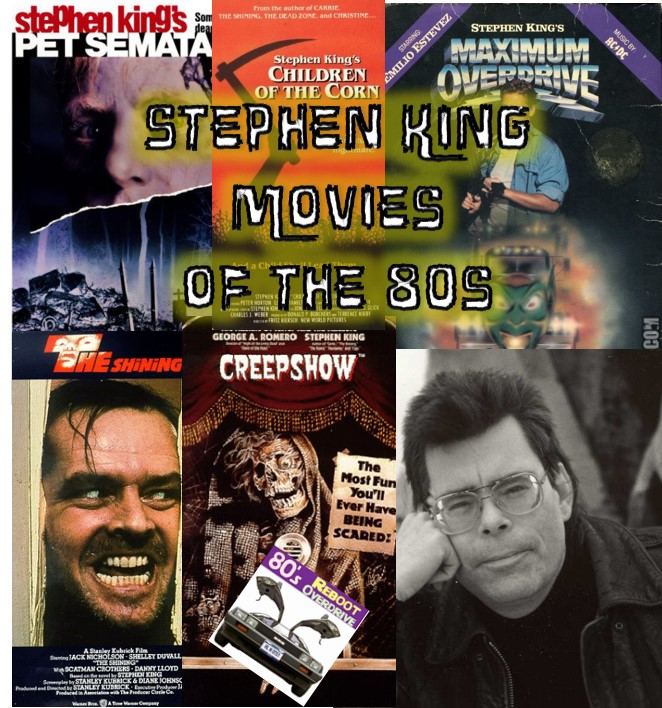 Stephen King Movies of the 80s - 80's Reboot Overdrive
