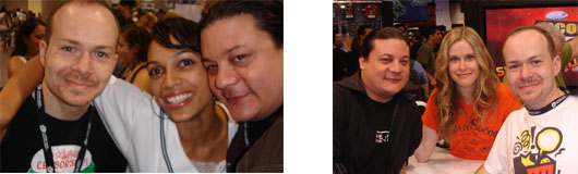Episdode 47- SDCC Wrap up, Rosario Dawson, Blair Butler
