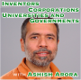 Artwork for Inventors, Corporations, Universities, and Governments with Ashish Arora [Idea Machines #28]