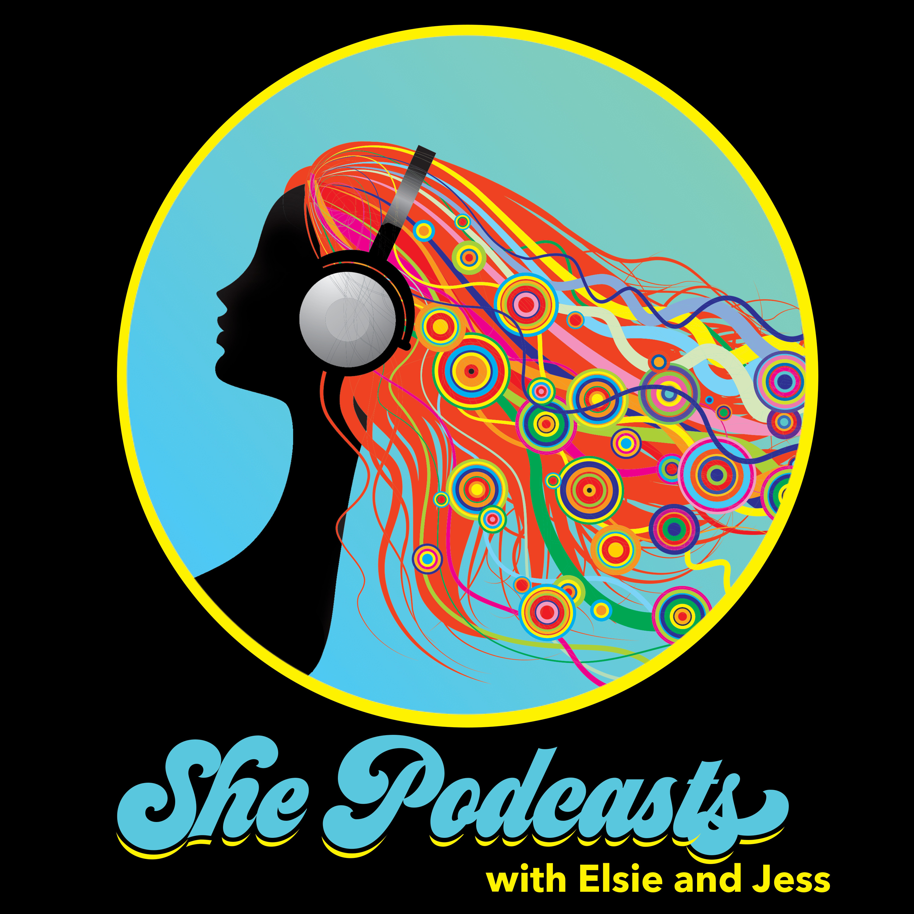 She Podcasts show art