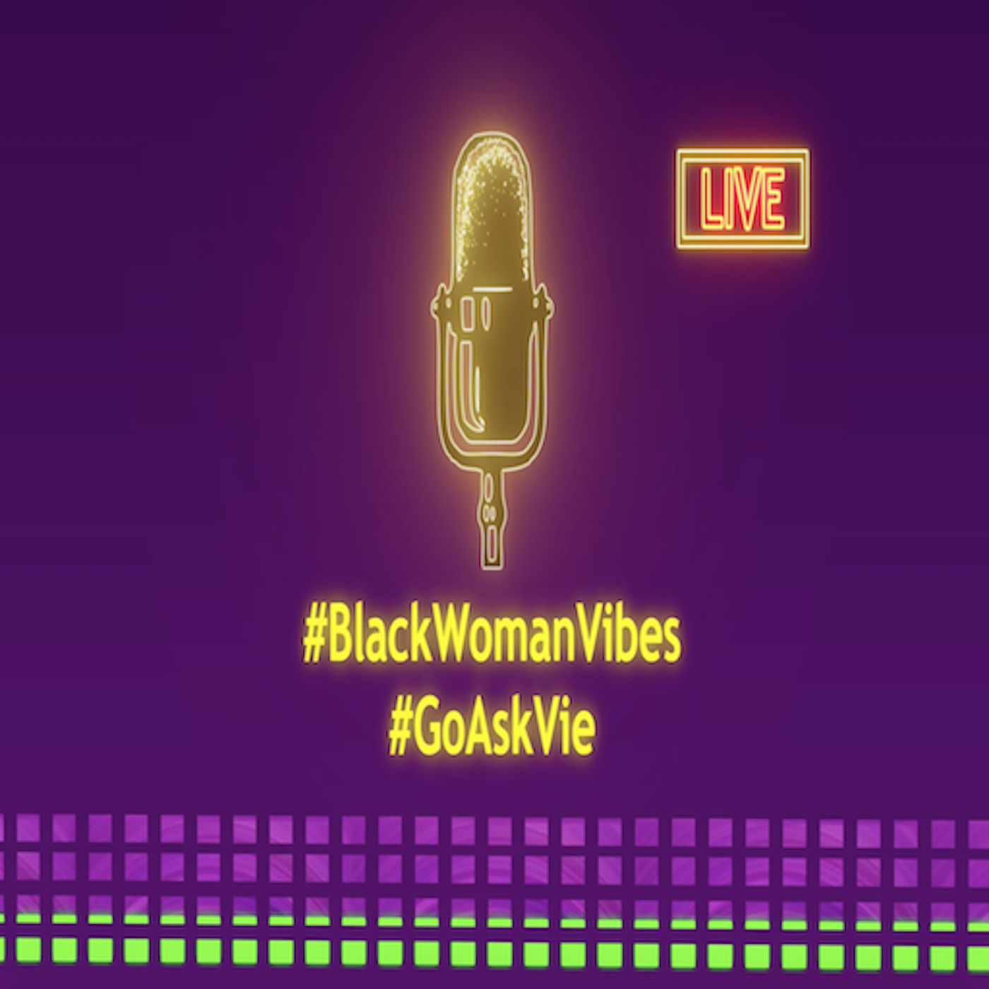 Black Woman Vibes's Podcast show art