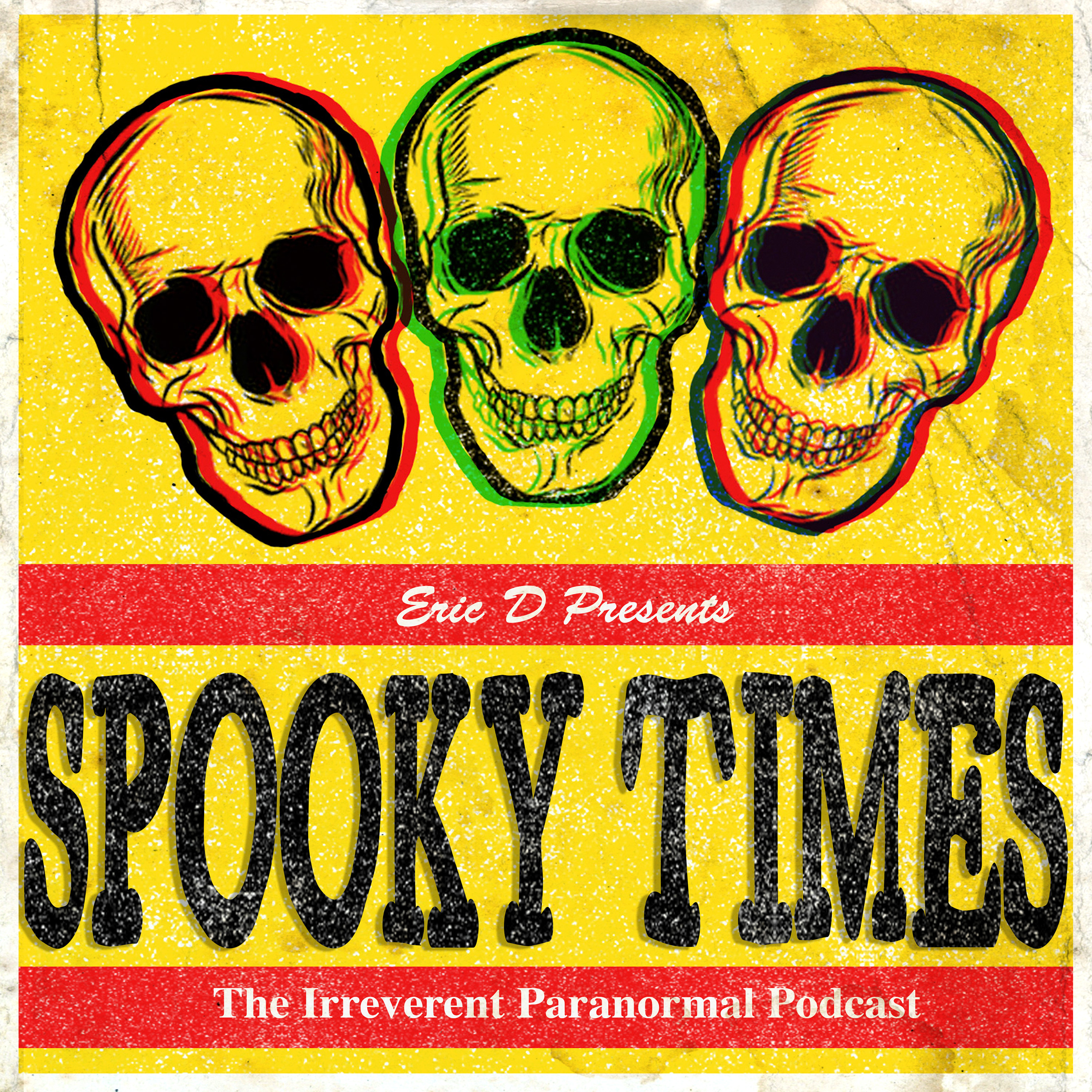 Spooky Times with Eric D show art