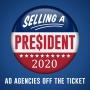 Artwork for Strange Bedfellows - Selling a President 2020