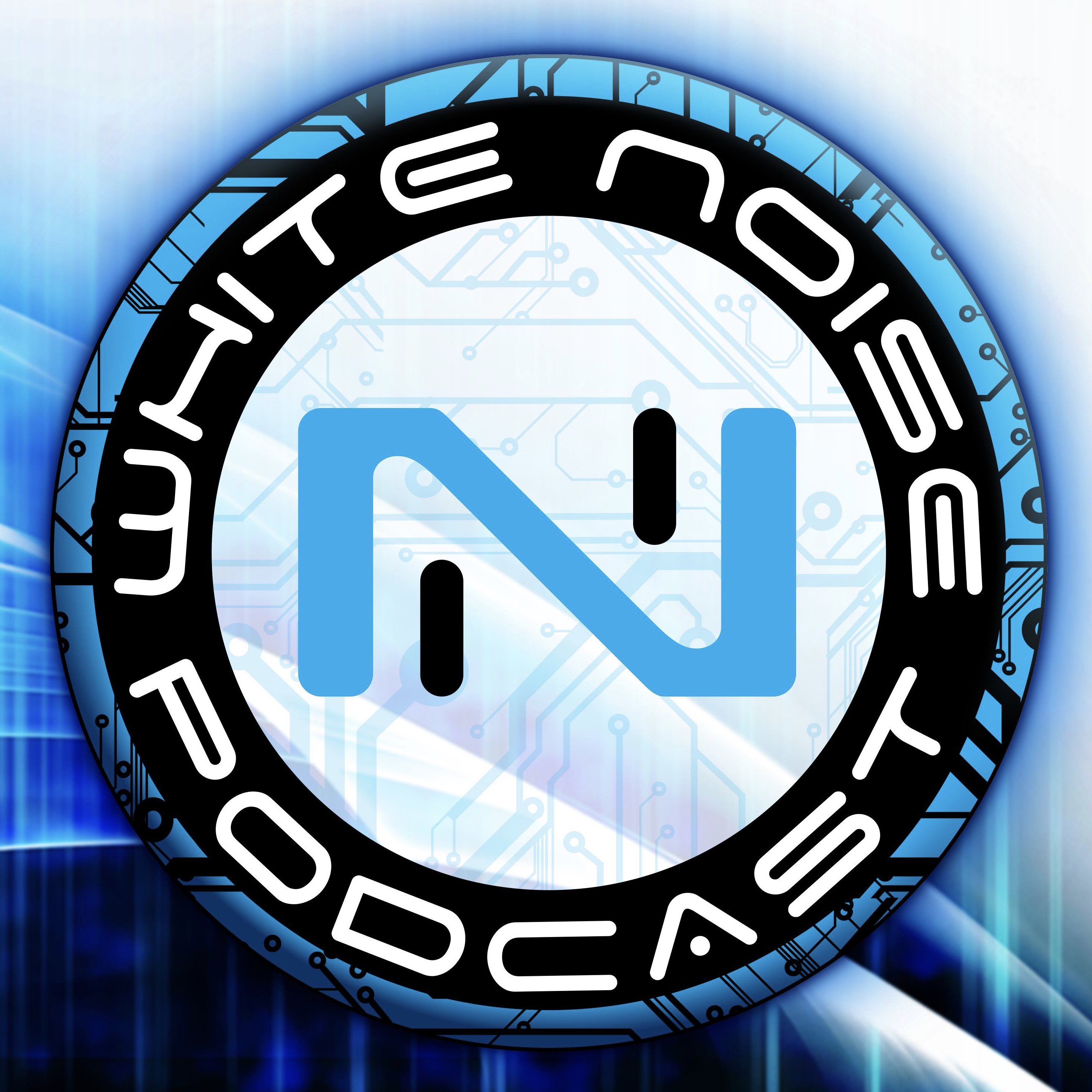 White Noise - An Infinity the Game Podcast show art
