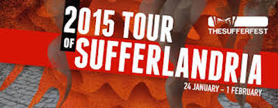 Artwork for 2015 Tour of Sufferlandria Stage 2 with Sir David Triska