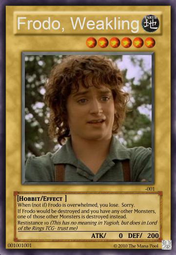 Frodo, Weakling