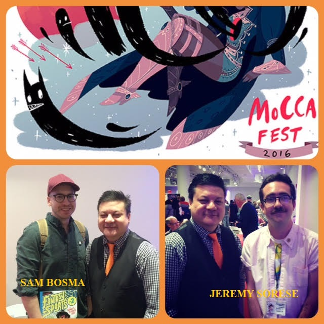 Episode 681 - MoCCA: Nobrow Special w/ Sam Bosma/Jeremy Sorese!