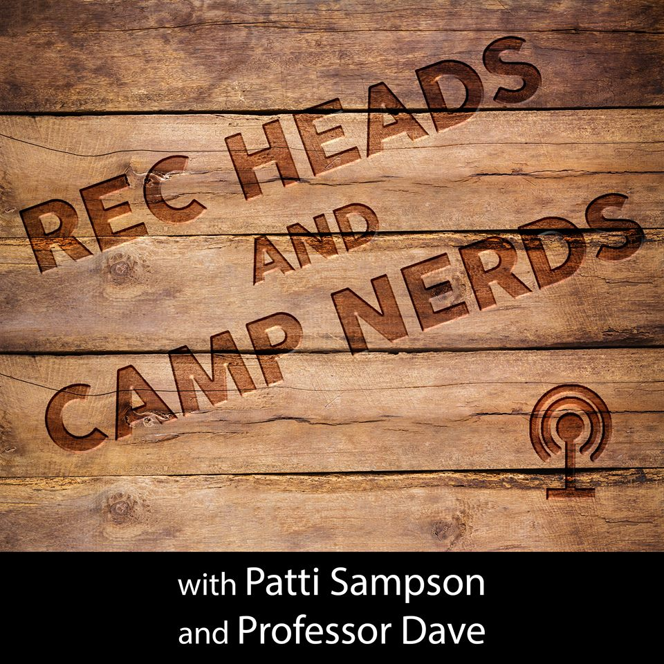 Rec Heads and Camp Nerds podcast show art