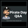 Artwork for Pirate Day Q&A: Bluffing with AK, Facing Raises and +EV Play #257