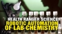 Artwork for Health Ranger explains robotic automation of laboratory science and chemistry
