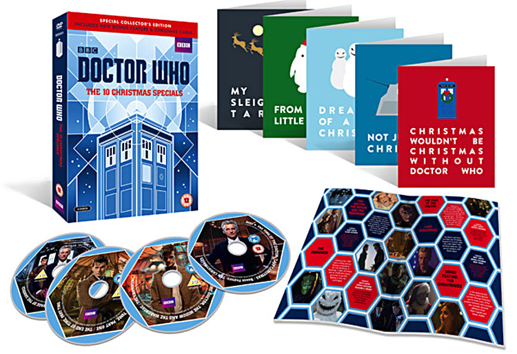 #WIN A Competition  to Win  DoctorWho Numbered Christmas Blu Ray Box Set