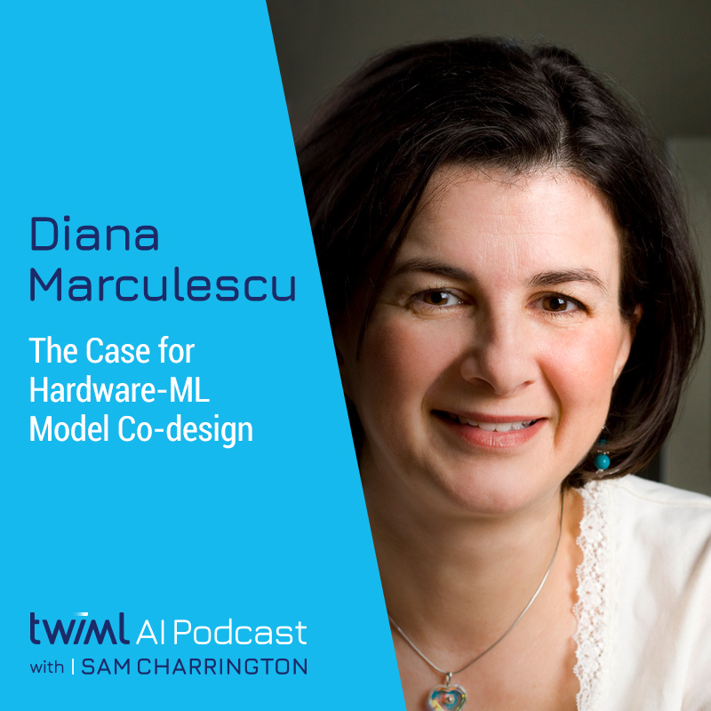 The Case for Hardware-ML Model Co-design	with Diana Marculescu - #391