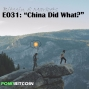 """Artwork for E031: """"China Did What?"""" - 1/14/2017"""