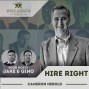 Artwork for Hire Right with Cameron Herold
