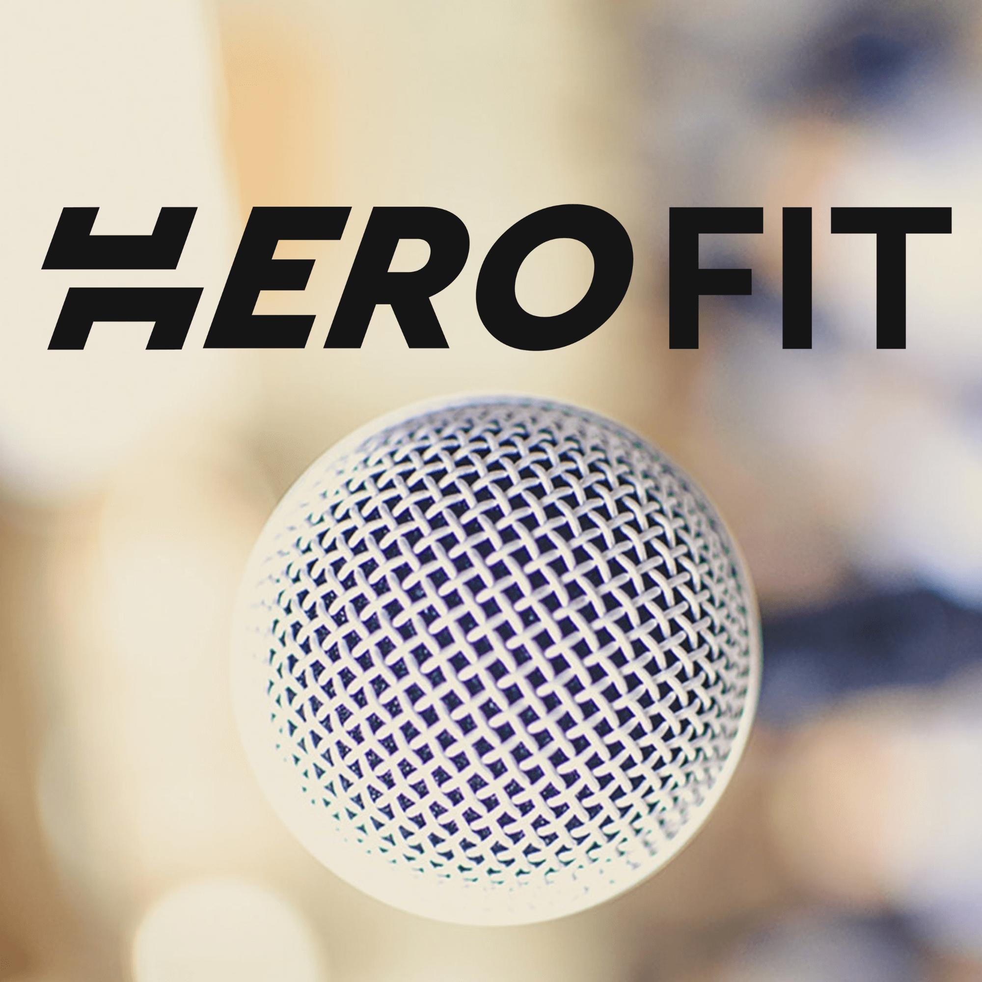 HeroFit Podcast show art