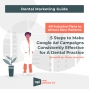 Artwork for Dental Marketing Guide: 5 Steps to Make Google Ad Campaigns Consistently Effective for a Dental Practice