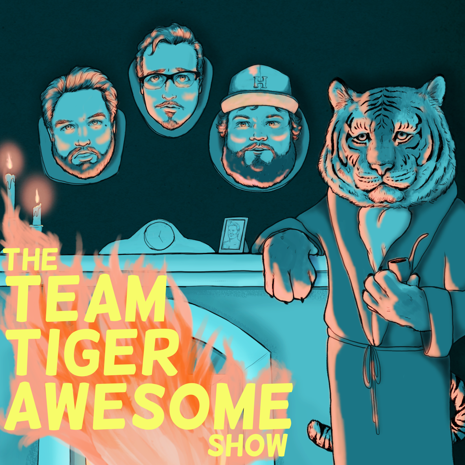 The Team Tiger Awesome Show show art