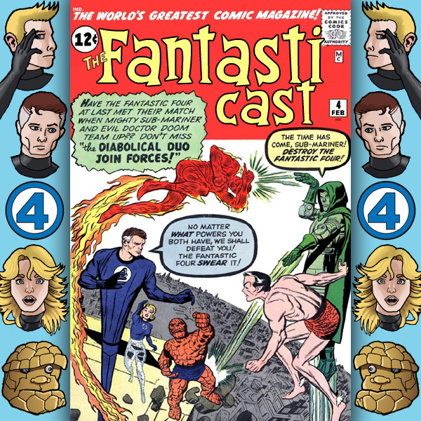 Episode 4: E-mails and Fantastic Four #6