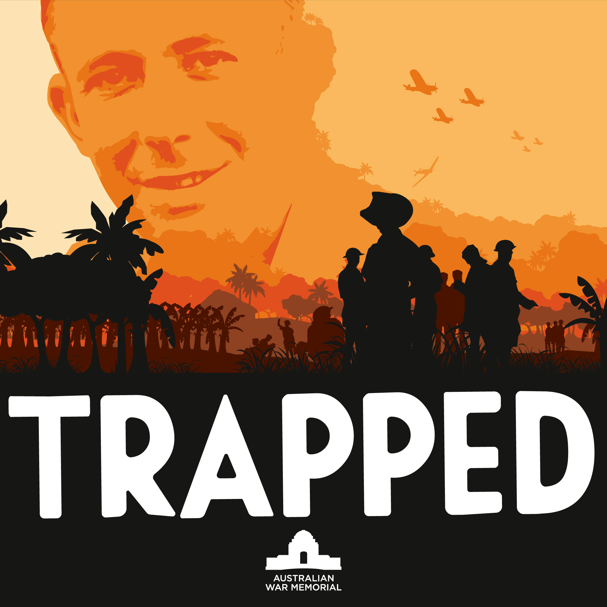 Trapped show art