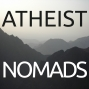 Artwork for Atheist Nomads Episode 19 – Charity, the JW's, and Black Atheism with Bridget Gaudette